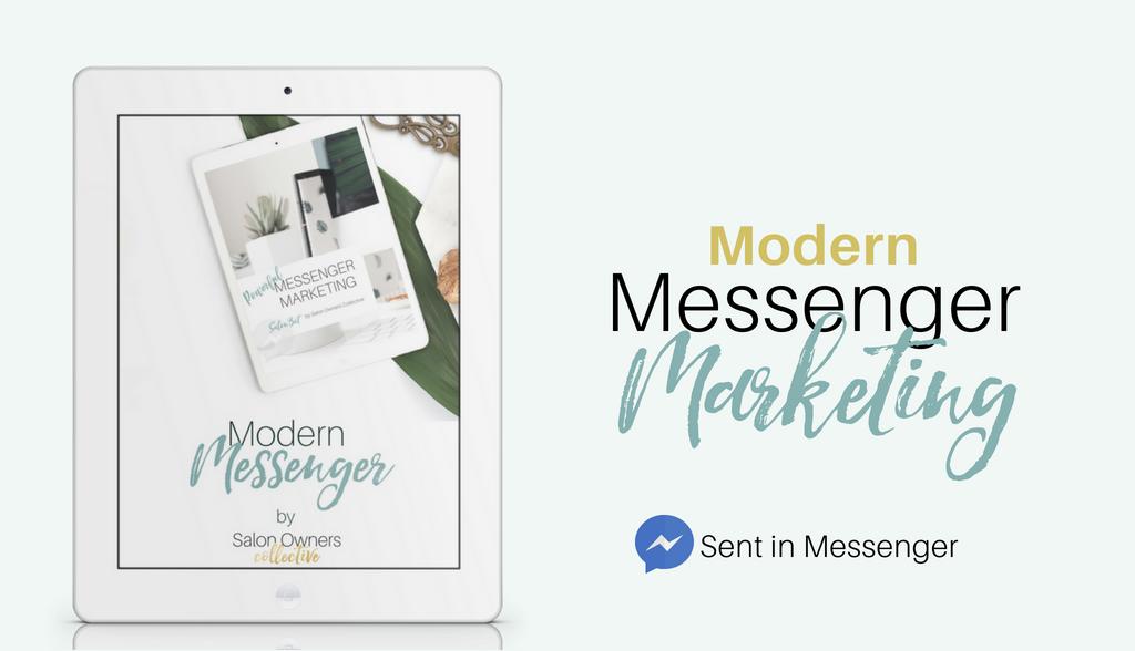 salon Bot Messenger marketing