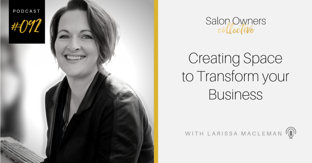 Creating space to transform your business